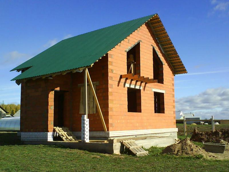 Будинок з блоку Leier